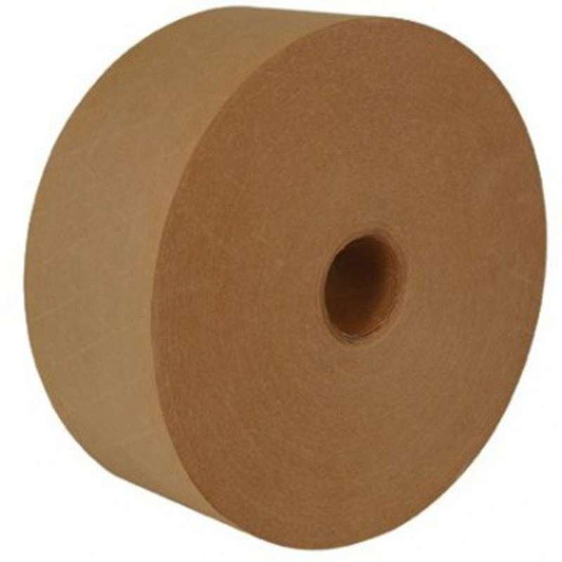 Series 160 Water Activated Tape, Color Natural/Black
