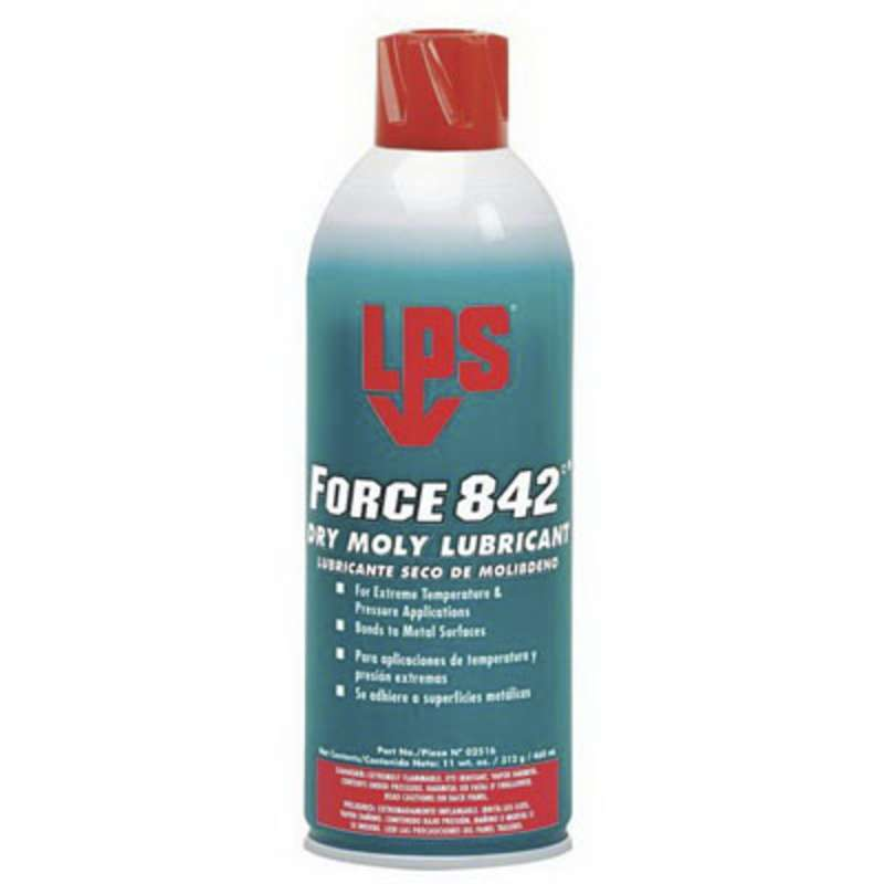 LPS® Force 842°® Dry Moly Lubricant, 11 oz Aerosol Can