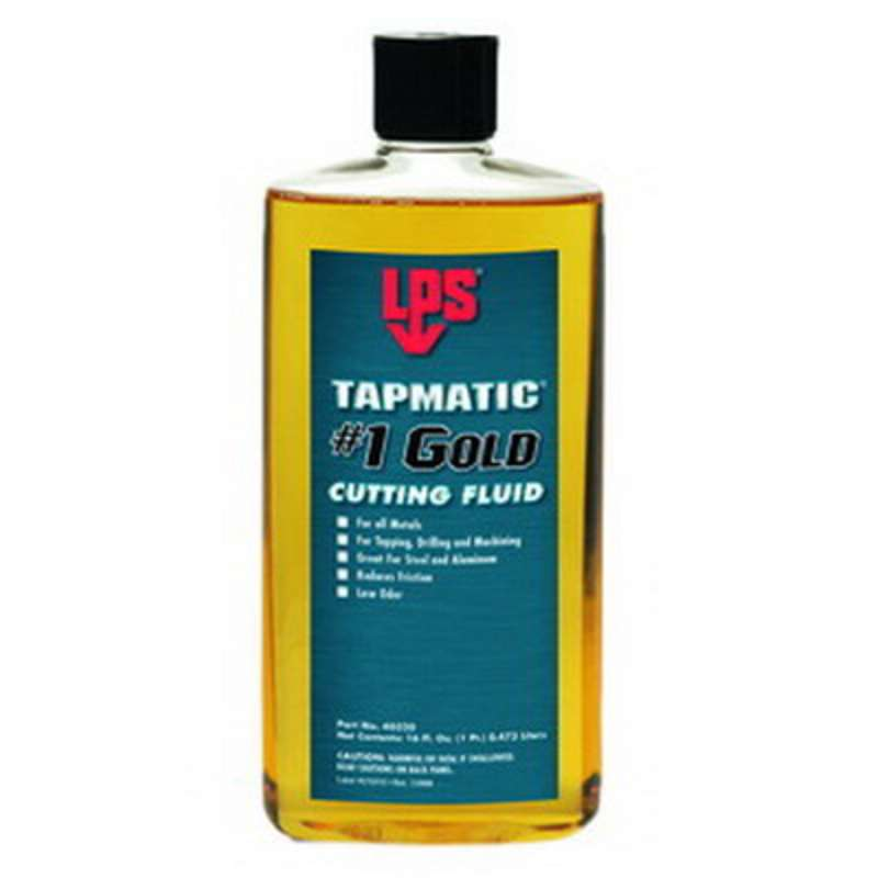 LPS® Tapmatic® Cutting Fluid, 11 oz, Gold