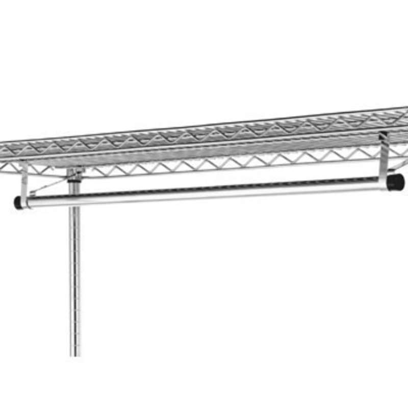 "Garment Hanger Tube with Brackets for 24 x 60"" Super Erecta® Shelves"