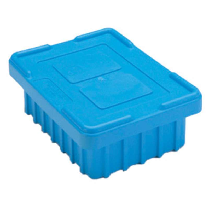 Dissipative Snap-On Tote Box Cover for TB93000BAS Series Tote Boxes, Blue, 20-5/8 x 15-5/8""