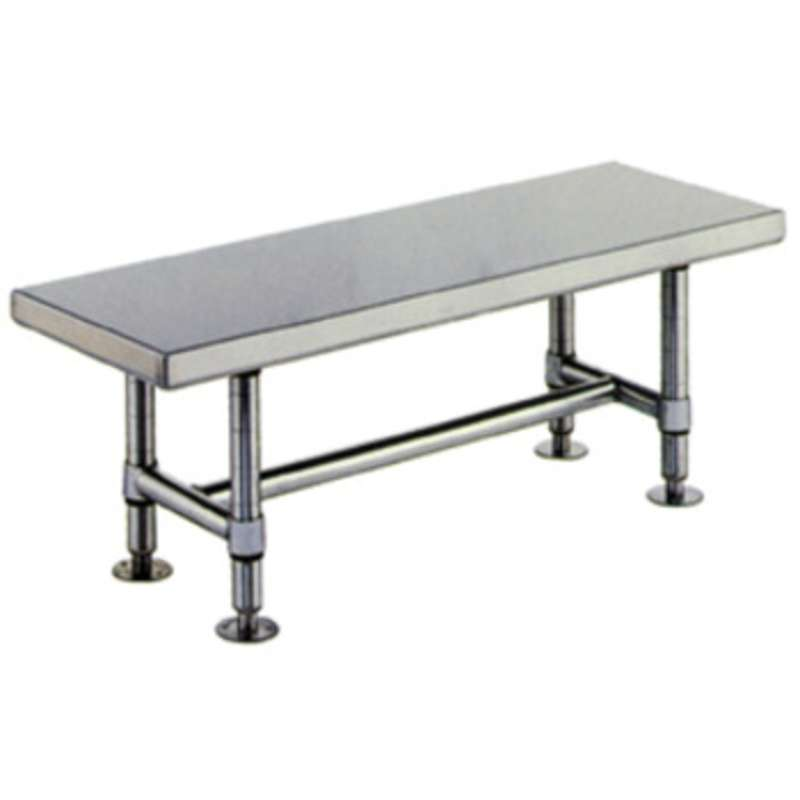 Stainless Steel Heavy Duty Gowning Bench 16 Quot D X 72 Quot W X 18 Quot H