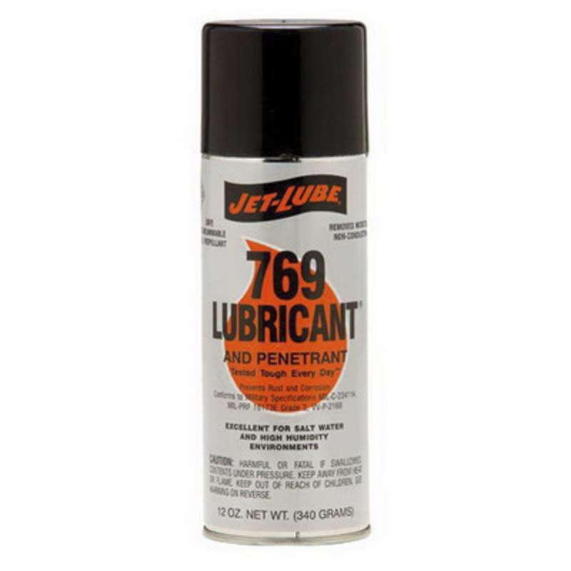 Jet-Lube® 769 Lubricant, 12 oz Aerosol Can, Pale Yellow/Amber
