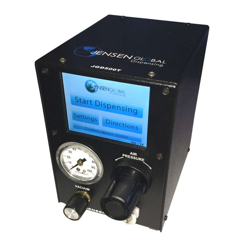 Programmable Digital Timed Pneumatic Dispenser with LCD Screen