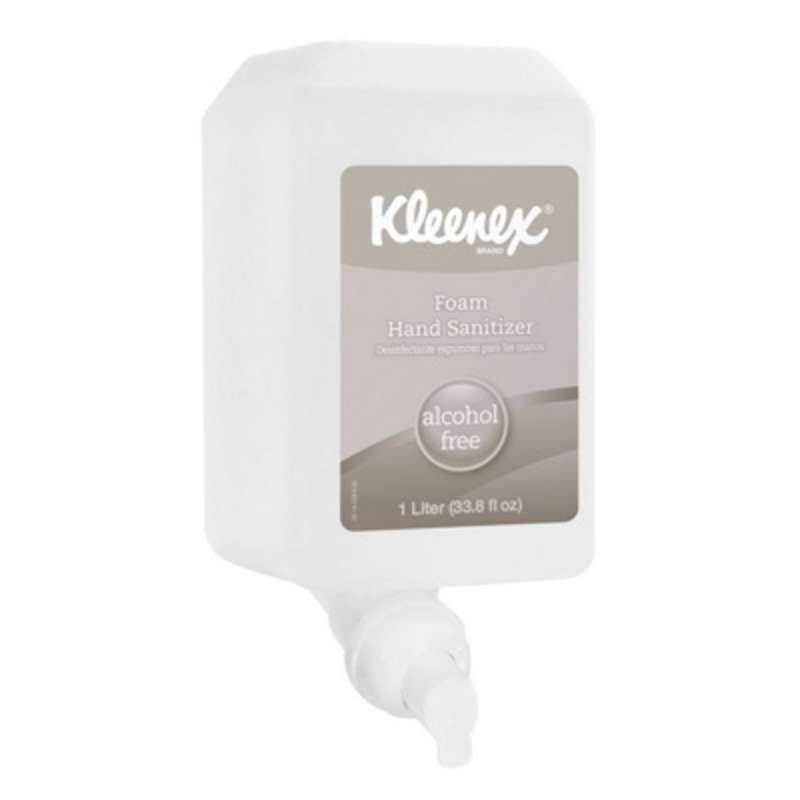 Kleenex Alcohol-Free Foam Hand Sanitizer, 1000 mL