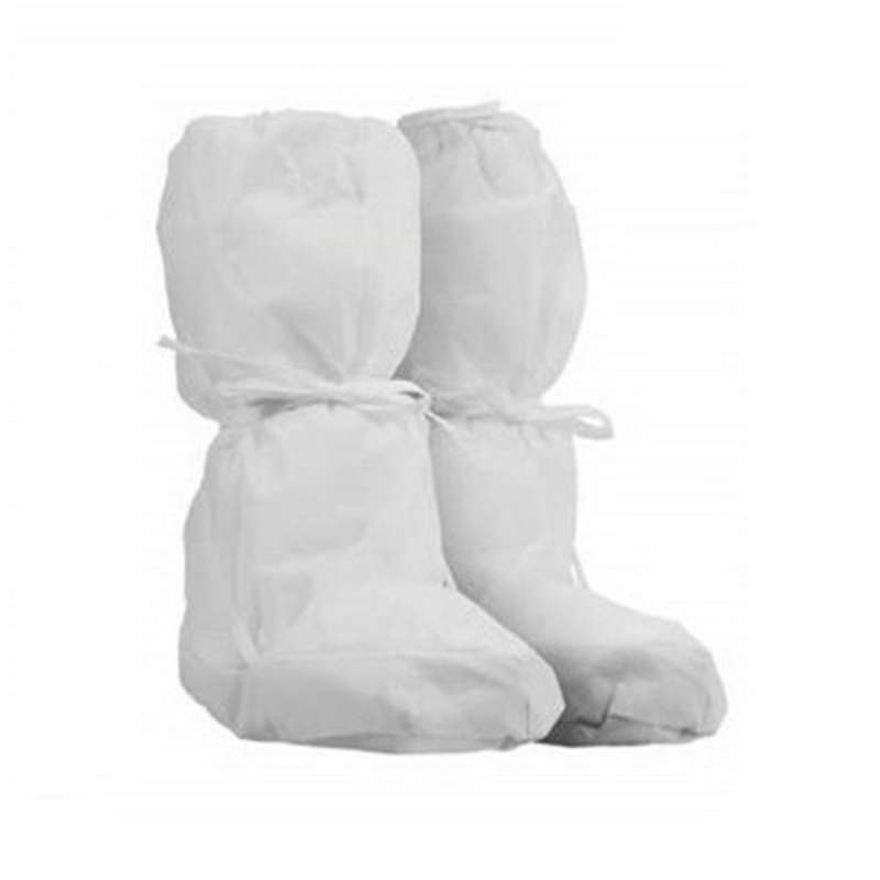 Kimtech A5 Meltblown Spunbond Cleanroom Boot Covers, Universal Size, White, 100 Pair per Case
