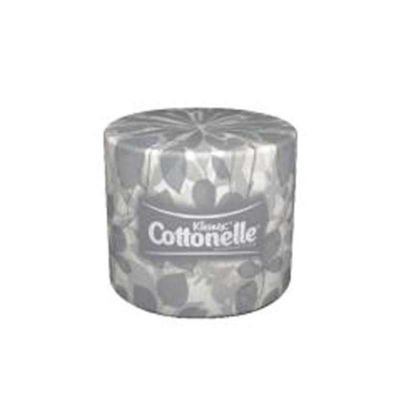 Cottonelle Paper Standard Roll Bathroom Tissue, 4.09 in x 4 in, White