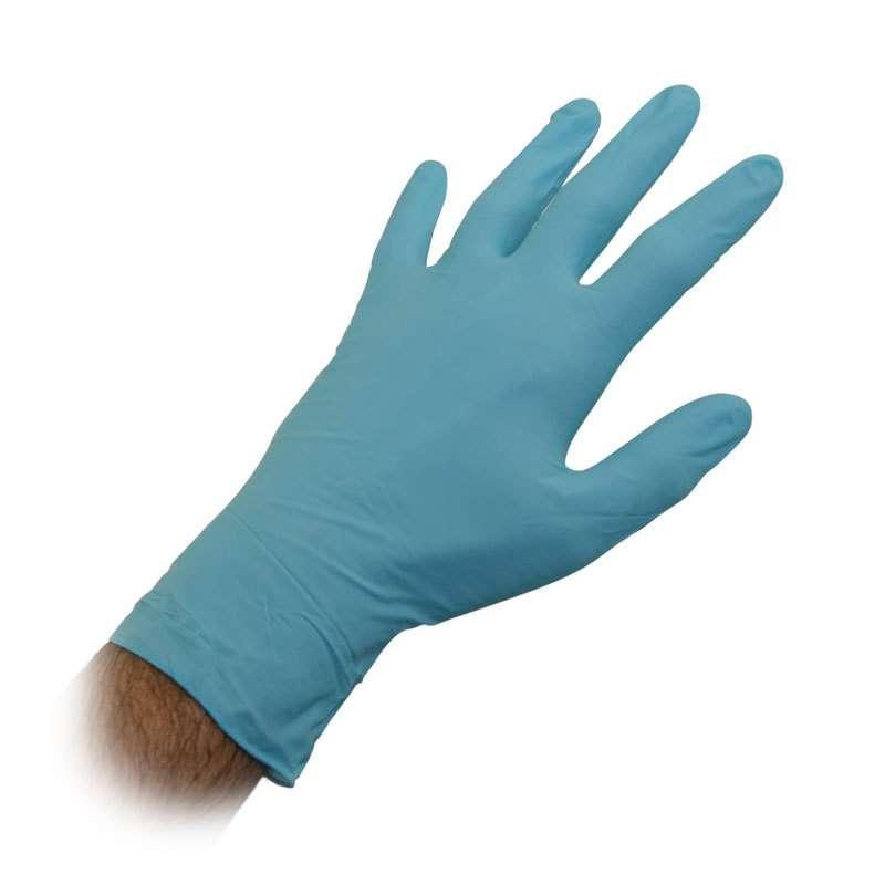 Nitrile gloves for sodium hypochlorite