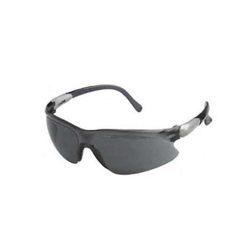 KleenGuard V20 Visio Smoke Anti-Fog Lens  Silver/Black Frame  12/Box
