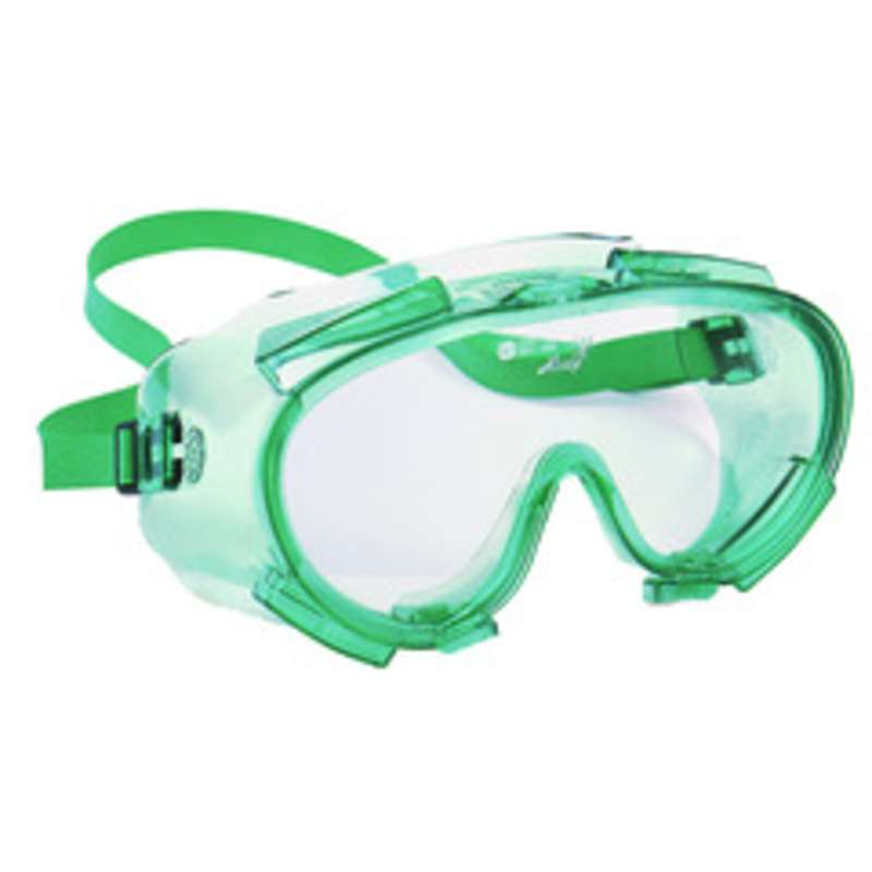 KleenGuard V80 SG34 Goggles, Clear Lens, Green Frame 50/Box