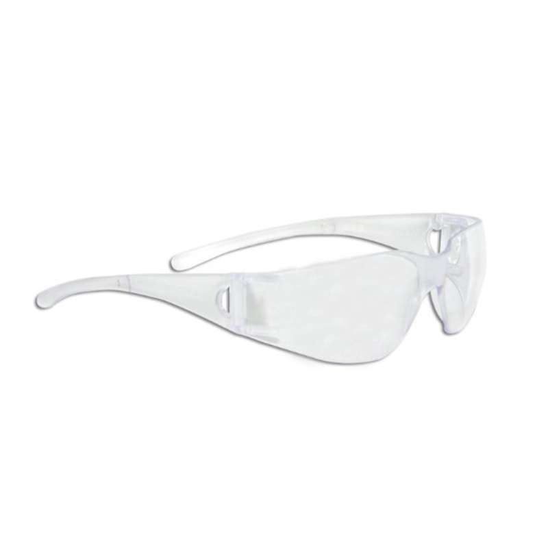 KleenGuard V10 Element* Clear Lens Uncoated, Clear Temples  12/Box