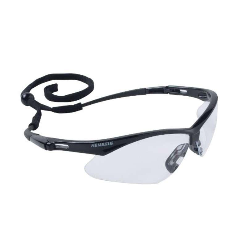 KleenGuard V30 Nemesis Safety Eyewear  Indoor/Outdoor Lens  Black Frame  12/Box