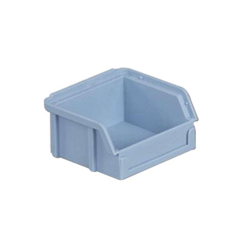 """Bin Box, Light Blue, 8-1/8 x 8 x 5""""ID"""