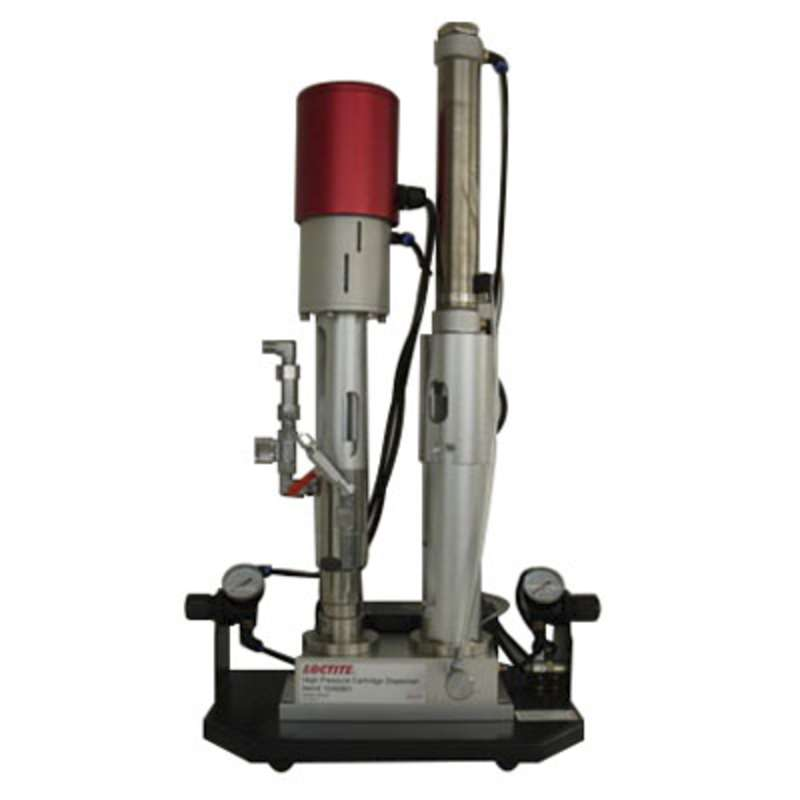 High Pressure Benchtop Cartridge Dispenser, 110 - 240 VAC, 50/60 Hz, 14 in x 8.3 in x 27 in