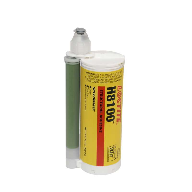 H8100? Speedbonder? Structural Adhesive, Green, 490mL Dual Cartridge