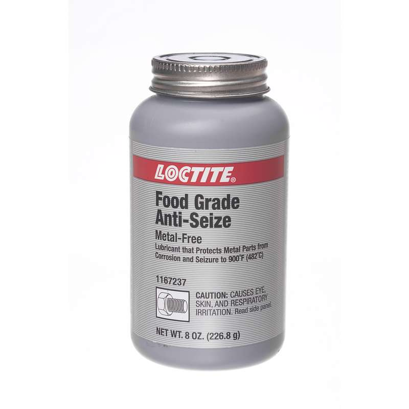 Food Grade Grease : Food grade metal free anti seize lubricant oz brushtop can