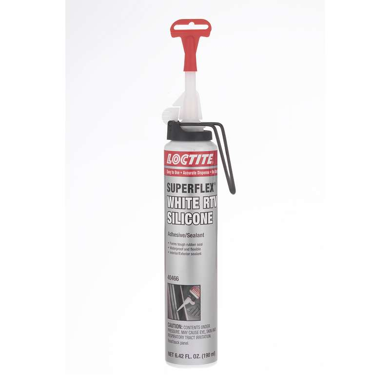 Superflex® White RTV, Silicone Adhesive Sealant