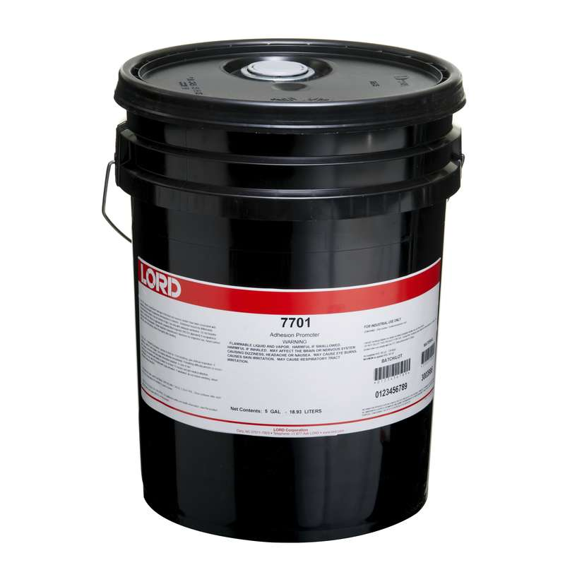 Chemlok® 7701 Surface Treatment Coating, 5 gal Pail, Clear