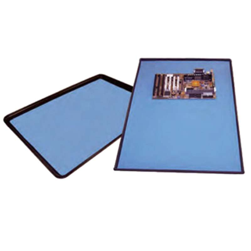 MFG Tray 332-6004 ESD Tray Mat, 16.33 in x 24.27 in x 0.080 in