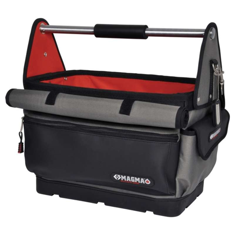 Tool Tote with 32 Internal Pockets and Holders, 19-1/4 x 11-3/8 x 17-3/8""