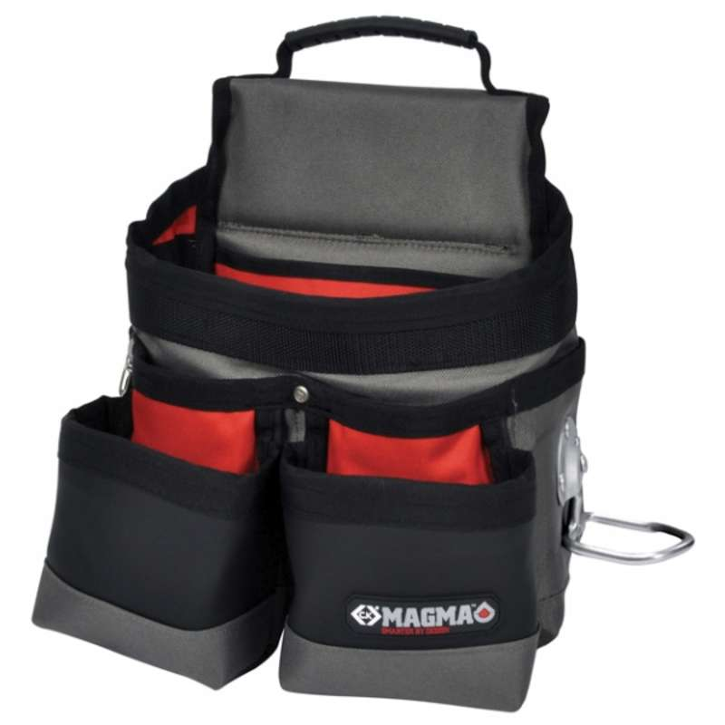 """Electrician's Tool Pouch with 15 Pockets and Holders, 11-7/8 x 6-1/4 x 11-7/8"""""""