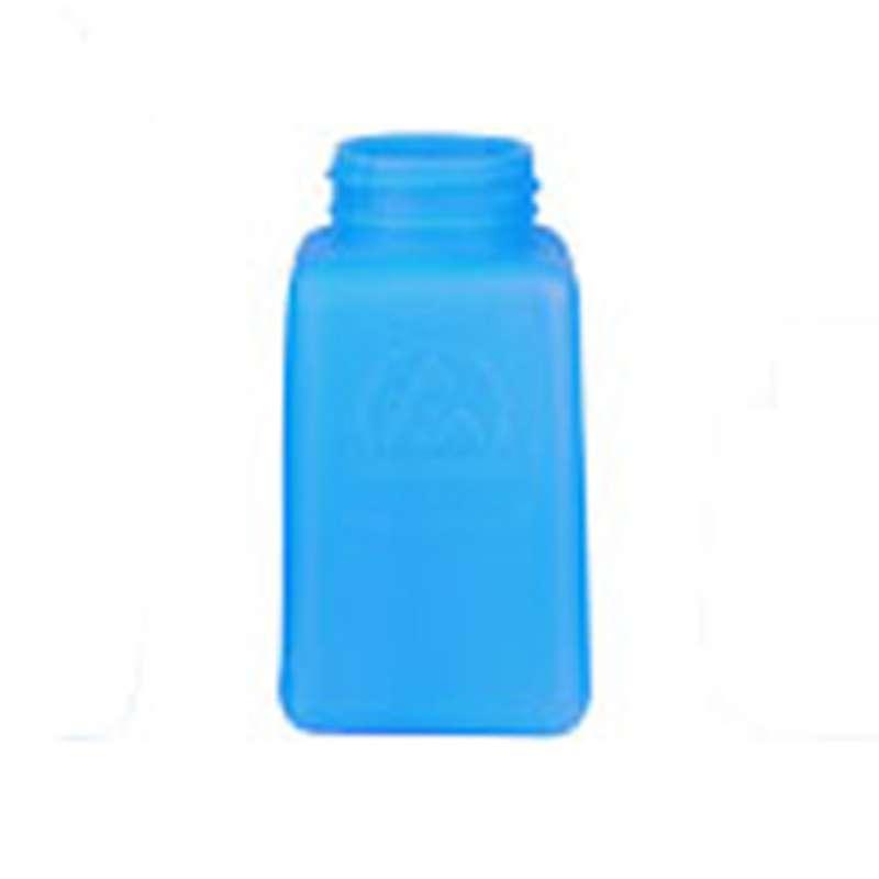 ESD-Safe Blue durAstatic™ Solvent Dispenser Bottle without Lid, 6 oz