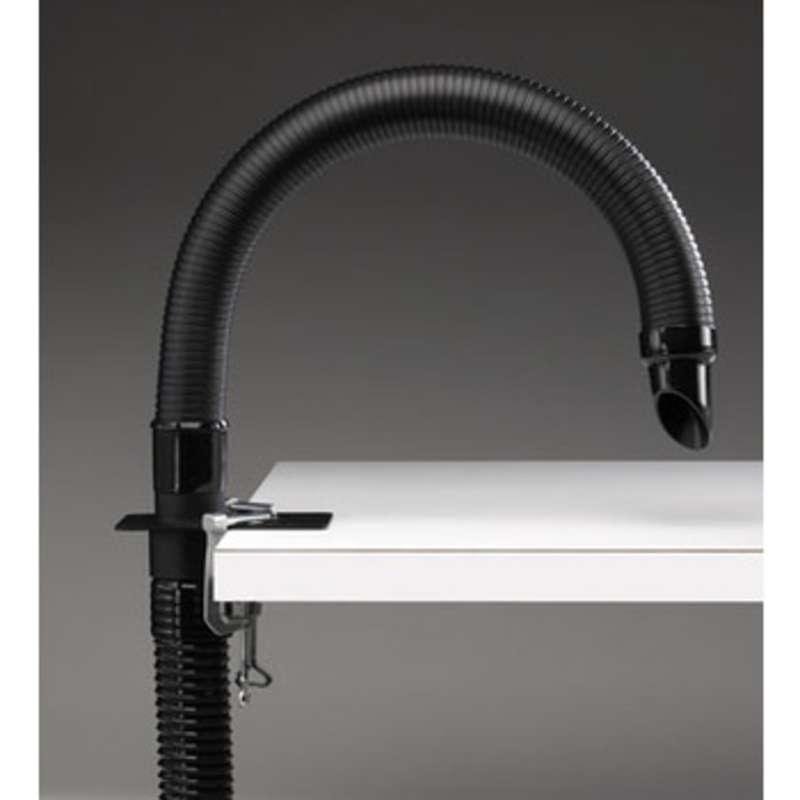 ESD-Safe BVX Exhaust Arm Kit with 2' Long Arm, 6' Hose, Bracket, and C-Clamps