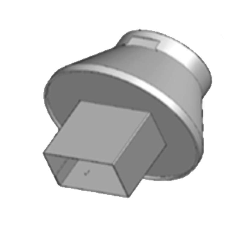 Rectangle Nozzle for HCT-1000, 14 x 8mm