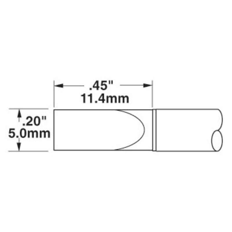 Metcal CVC-5200 Access Chisel Cartridge