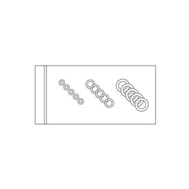 O-Ring Kit, Assortment of 5 for each of the 4 sizes