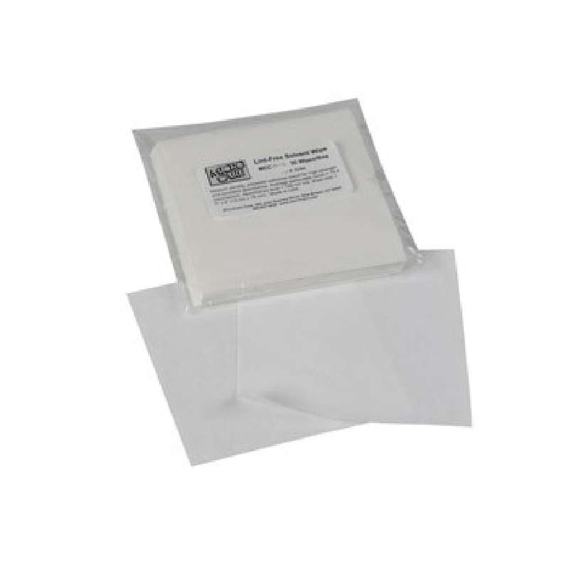 "Lint-Free Biodegradable Poly/Cellulose Blend Dry Wipes, 6 x 6"", 300 per Bag"