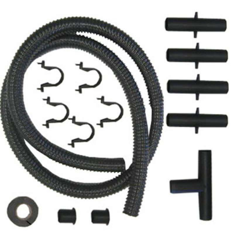Connection Kit, 25' Hose, for BTX-208 Solder Tip Fume Extraction System, Upto 8 Stations