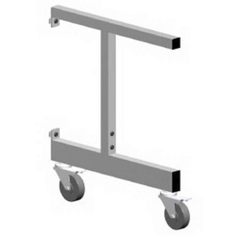 "C-LEG ADJ FOR 36"" WORKSURFACE & (2)CASTERS"
