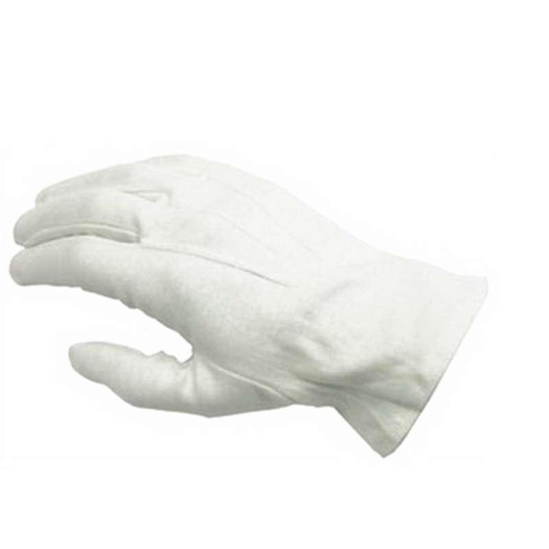 Cabaret 130 100wm Cotton Dress Glove Medium White 25 Dzca