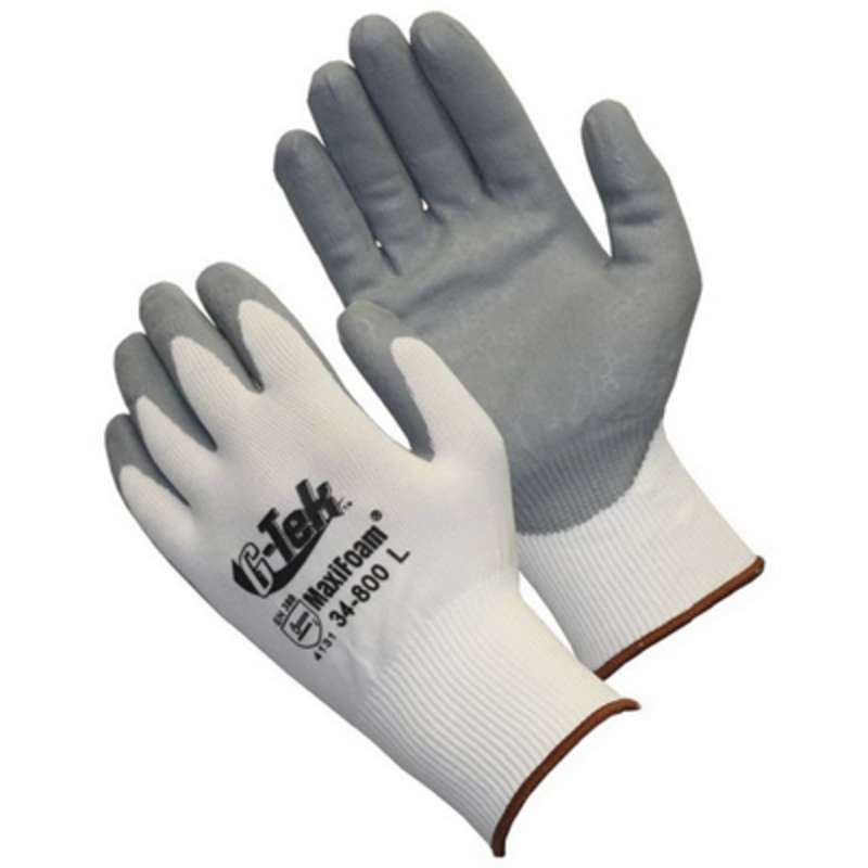 Foam Nitrile Coated Gloves Small 12dz/CA