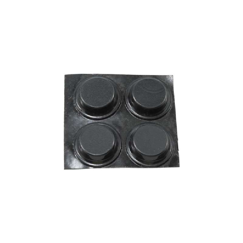 Bumpons Non-Marring Anti-Skid Rubber Pads for use with Model 308 and 311 Bases, 4 per Pack
