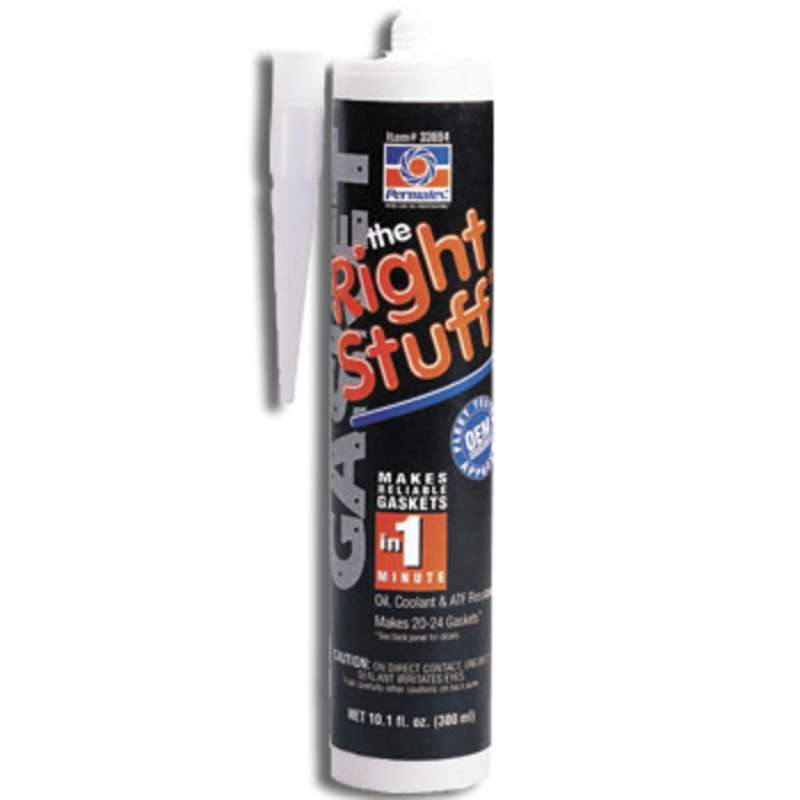 The Right Stuff® Instant Rubber Gasket Maker, 10.1 fl oz. Cartridge