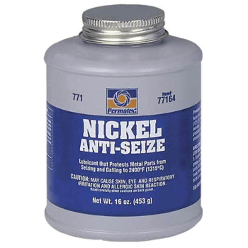 Nickel Anti Seize Lubricant In Brush Top Bottle 16 Oz