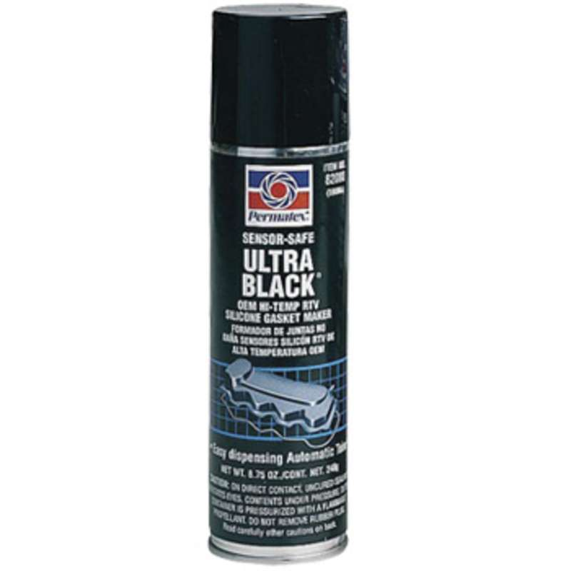 Ultra Black® Oil Resistant RTV Silicone Gasket Maker, 8.75 oz. Automatic Tube®