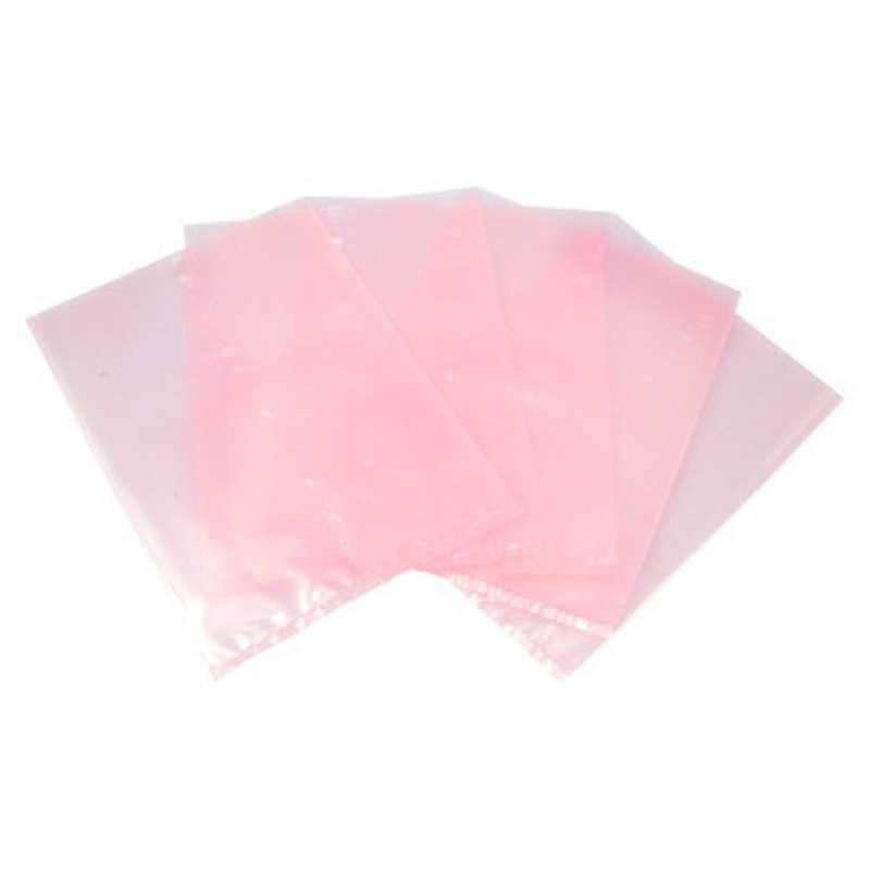 "94 Series Anti-Static 4mil Pink Polyethylene Open Top Bag, 3 x 3"", 1000 per Package"