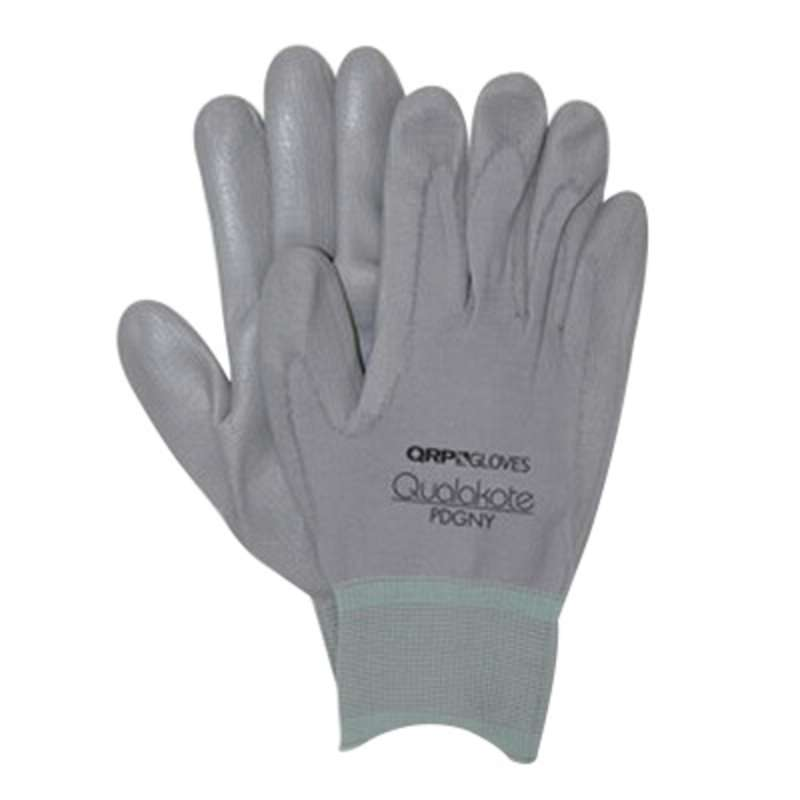 Qualakote® NY Seamless Knit Inspection Glove with Coated Grip, Medium, 120/CA