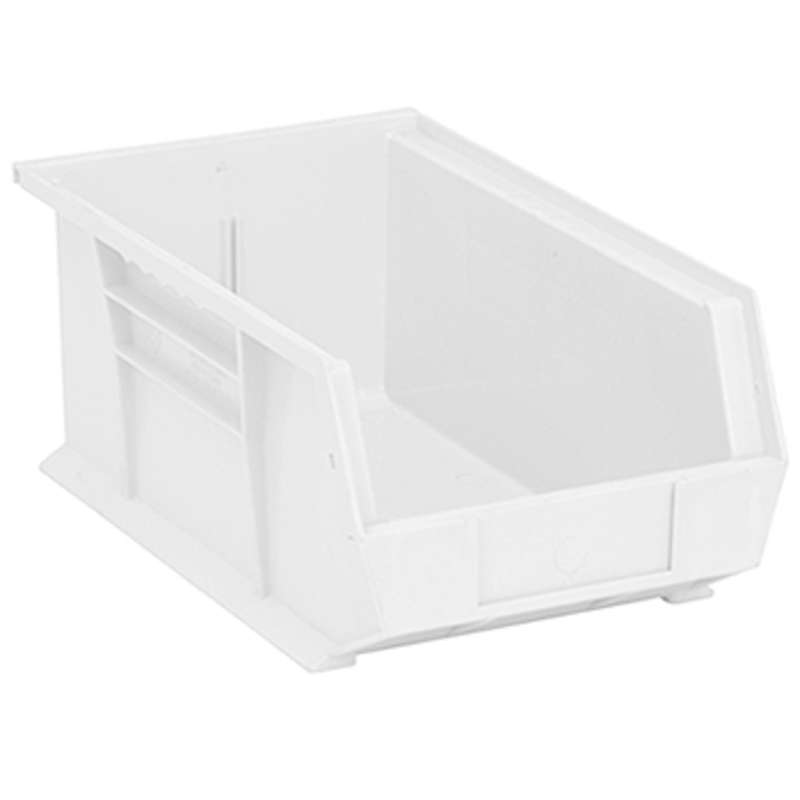 Ultra Stack and Hang Bin, 13-5/8 x 8-1/4 x 6in, Clear, 12 per Case