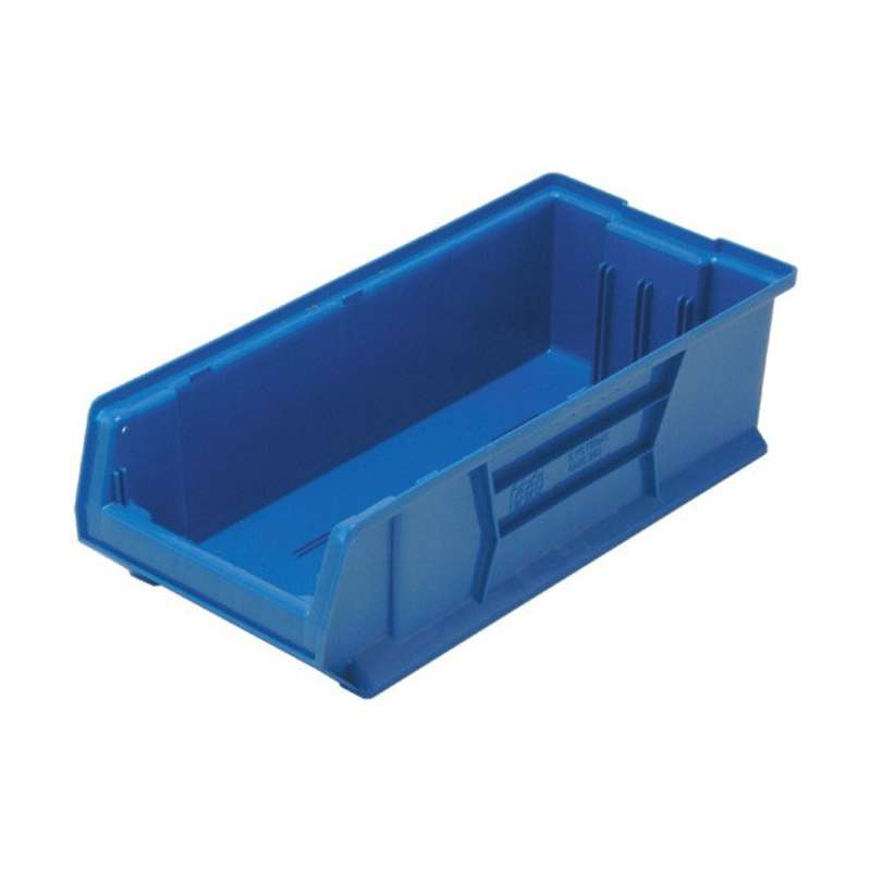 Bin, 24in Hulk Container, 23-7/8in x 11in x 7in, Blue, 4 per Case