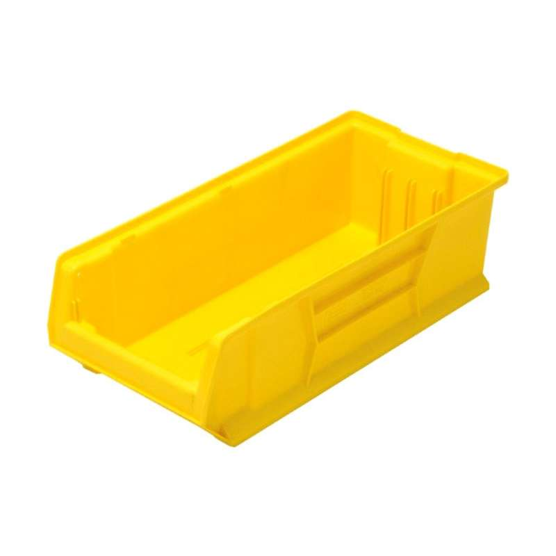 Bin, 24in Hulk Container, 23-7/8in x 11in x 7in, Yellow, 4 per Case