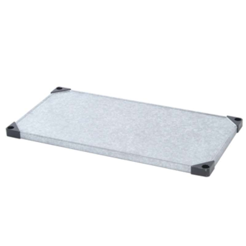 Stainless Steel Solid Shelf, 18 x 72""