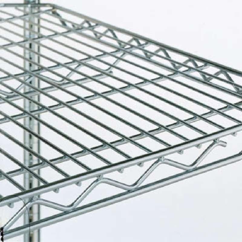 Stainless Steel Wire Shelf, 21in W x 54in L