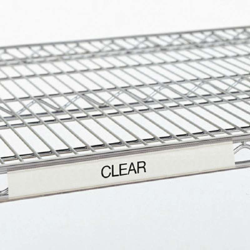 24in Clear Label Holder for Quantum Wire shelves