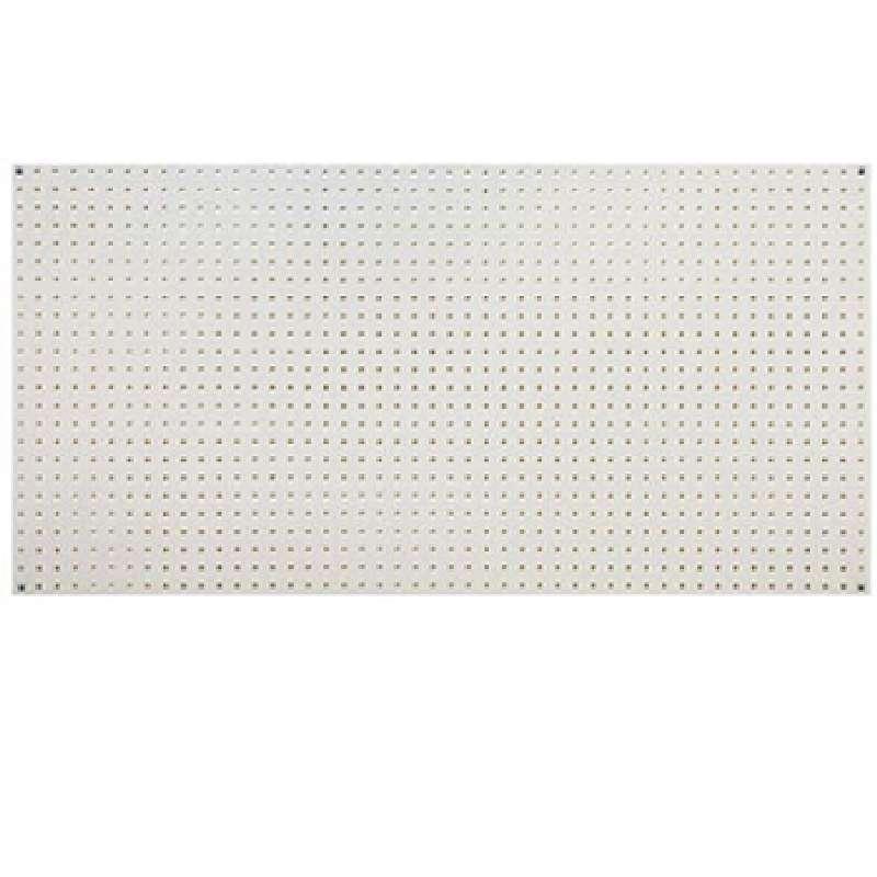 Q-Peg Wall Storage System Polypropylene Board, 24 x 48 x 1/4in, 4 Boards