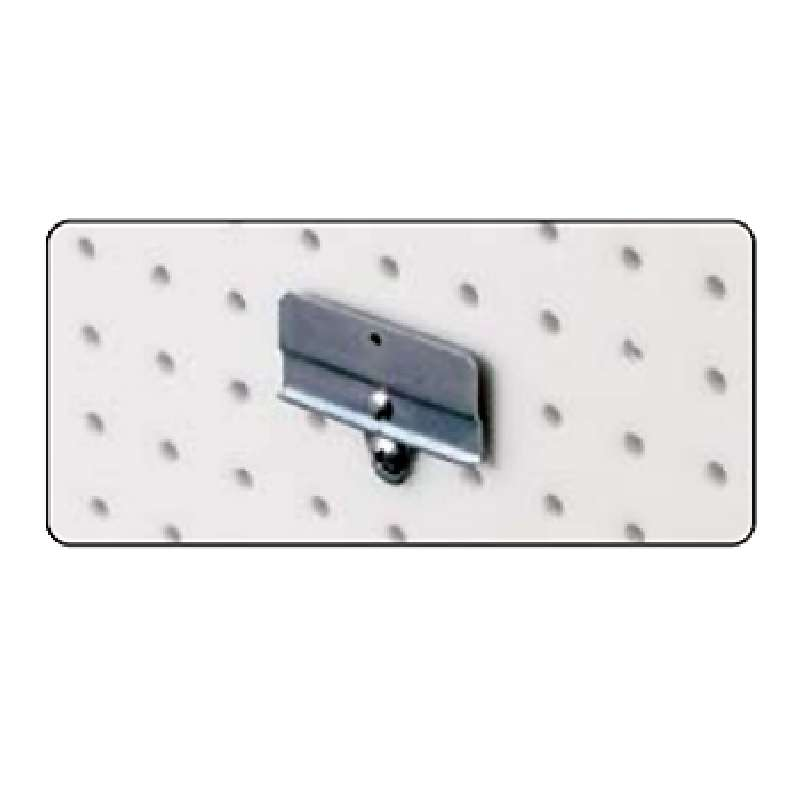 Pegboard Bin Clip for Q-Peg Wall Storage Systems, 5 per Package