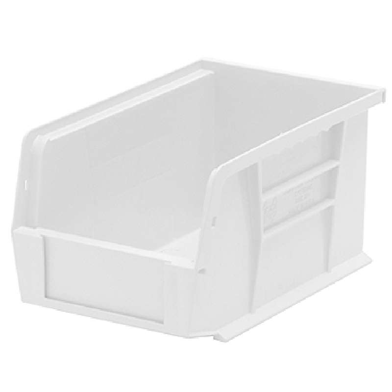 Ultra Stack and Hang Bin, 9-1/4 x 6 x 5in, Clear, 12 per Case
